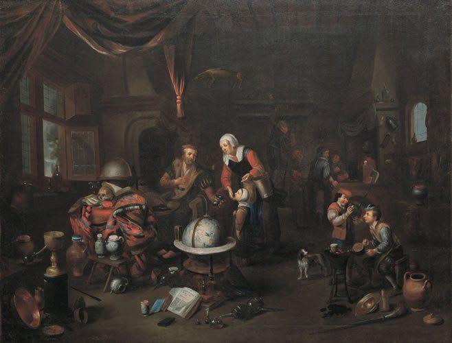The Alchemist Studio by Balthazar van den Bossche