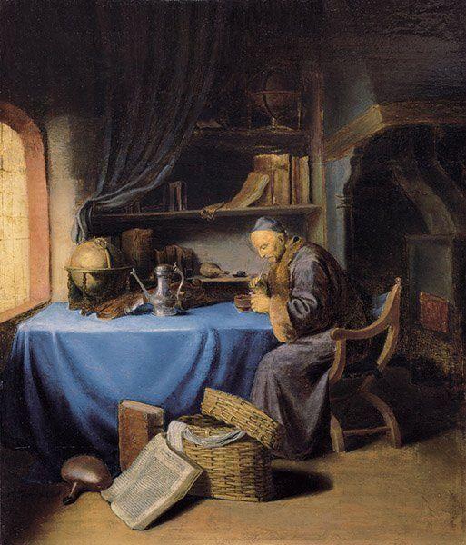 The Scholar by Jacob Toorenvliet